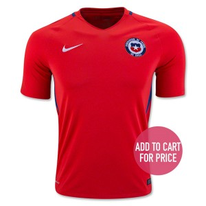 Camiseta Chile Home 2016