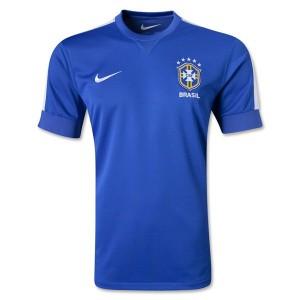 Camiseta nueva Brasil de la Seleccion Segunda 2013/2014