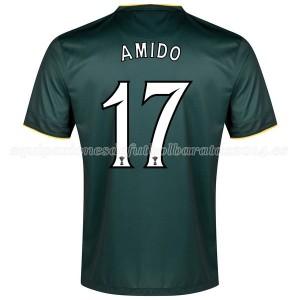 Camiseta Celtic Amido Segunda Equipacion 2014/2015