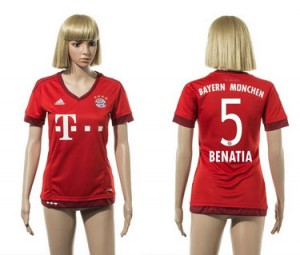 Camiseta nueva del Bayern Munich 2015/2016 5 Mujer