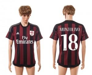 Camiseta de AC Milan 2015/2016 Primera Equipacion