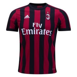 Camiseta nueva del AC Milan 2017/2018