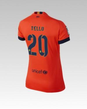 Camiseta nueva Barcelona Alexis Equipacion Tercera 2013/2014