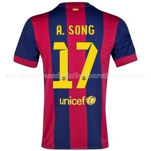 Camiseta nueva del Barcelona 2014/2015 A.Song Primera