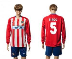 Camiseta nueva del Atletico Madrid 15/16 Manga Larga 5# Primera