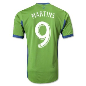 Camiseta nueva del Seattle Sound 2013/2014 Martins Tailandia Primera