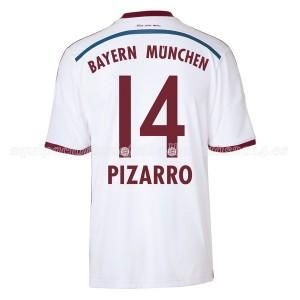 Camiseta del Pizarro Bayern Munich Segunda Equipacion 2014/2015