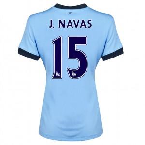 Camiseta nueva Manchester City Fernandinho Segunda 2013/2014