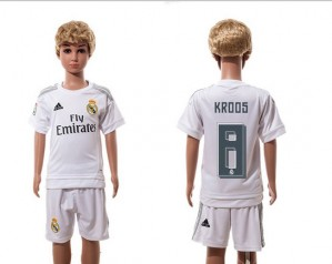Camiseta Real Madrid 8 Home 2015/2016 Ninos