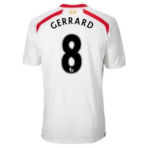 Camiseta del Gerrard Inglaterra de la Seleccion Segunda 2013/2014