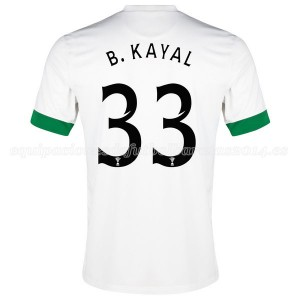 Camiseta Celtic B.Kayal Tercera Equipacion 2014/2015