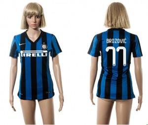 Mujer Camiseta del 77 Inter Milan 2015/2016