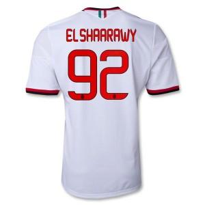 Camiseta nueva del AC Milan 2013/2014 Equipacion El Shaarawy Segunda