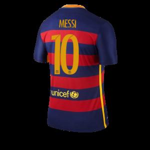 Camiseta Barcelona Numero 10 MESSI Primera Equipacion 2015/2016