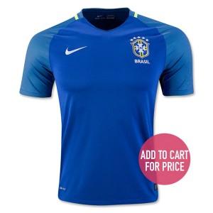 Camiseta de Brasil 2016 Segunda Equipacion