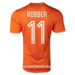 Camiseta del Robben Holanda de la Seleccion Primera WC2014