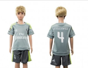 Camiseta de Real Madrid 2015/2016 Away 4 Ninos