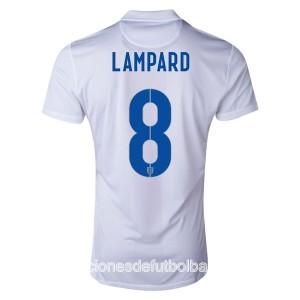 Camiseta nueva del Inglaterra de la Seleccion WC2014 Lampard Primera