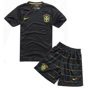 Camiseta nueva Brasil de la Seleccion Nino Tercera WC2014