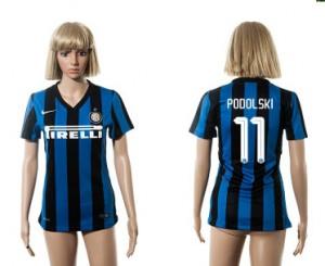 Mujer Camiseta del 11 Inter Milan 2015/2016