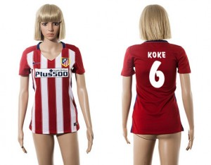 Camiseta nueva Atletico Madrid Mujer 6 2015/2016