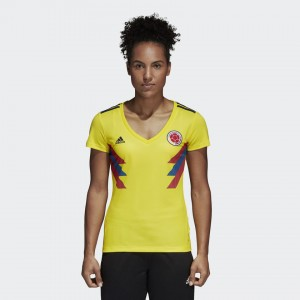 Mujer Camiseta del COLOMBIA Home 2018