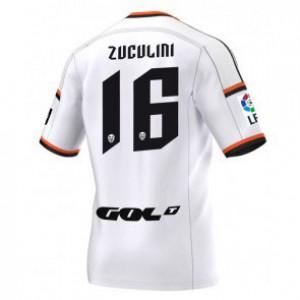 Camiseta Valencia Bruno Zuculini Primera Equipacion 2014/2015