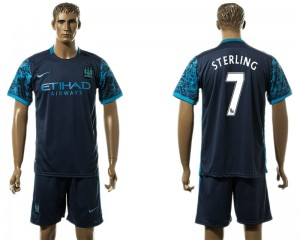 Camiseta del 7# Manchester City Away