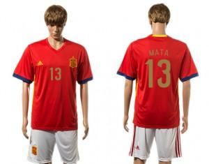 Camiseta de España 2015-2016 13#