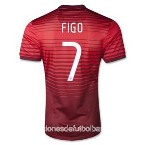 Camiseta de Portugal de la Seleccion 2013/2014 Primera Figo