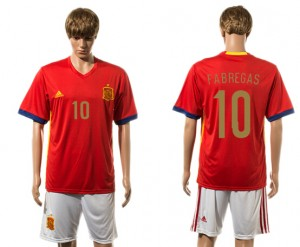 Camiseta del 10# España 2015-2016