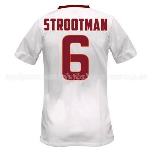 Camiseta AS Roma Strootman Segunda Equipacion 2014/2015