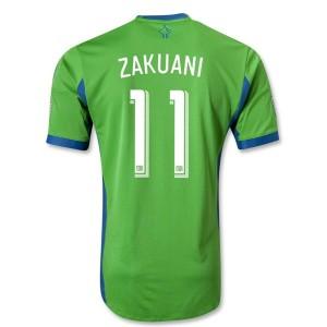 Camiseta Seattle Sound Zakuani Primera Tailandia 2013/2014
