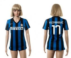 Camiseta nueva del Inter Milan 2015/2016 17 Mujer