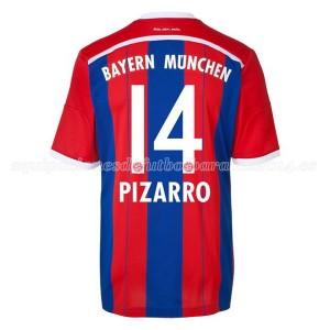 Camiseta nueva Bayern Munich Pizarro Equipacion Primera 2014/2015