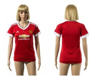 Camiseta nueva del Manchester United 2015/2016 Mujer