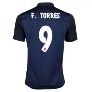Camiseta de Atletico Madrid 2015 Segunda FERNANDO TORRES Equipacion