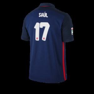 Camiseta de Atletico Madrid 2015/2016 Segunda SAUL Equipacion