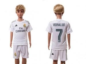 Camiseta Real Madrid 7 Home 2015/2016 Ninos