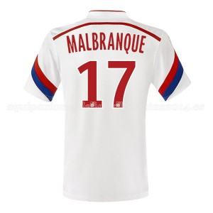 Camiseta nueva Lyon Malbranque Primera 2014/2015