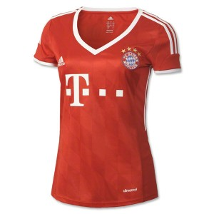 Mujer Camiseta del Bayern Munich Primera Equipacion 2013/2014