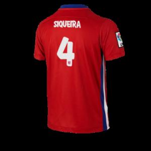 Camiseta del SIQUEIRA Atletico Madrid Primera Equipacion 2015/2016