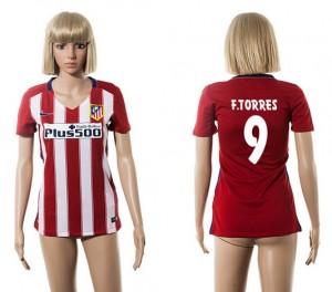 Camiseta nueva Atletico Madrid Mujer 9 2015/2016