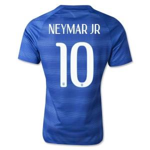 Camiseta de Brasil de la Seleccion WC2014 Segunda Neymar JR