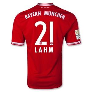 Camiseta del Lahm Bayern Munich Primera Equipacion 2013/2014