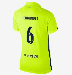 Camiseta de Barcelona 2013/2014 Segunda Equipacion Mujer