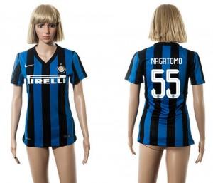 Camiseta nueva Inter Milan Mujer 55 2015/2016