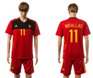 Camiseta Belgium 11# 2015-2016