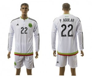 Camiseta de Mexico 2015/2016 Manga Larga