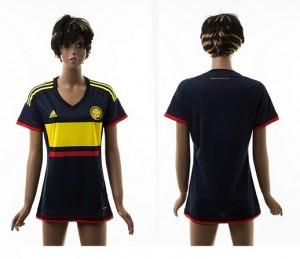 Camiseta nueva Colombia Mujer 2015/2016
